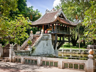 One Pillar Pagoda (Chua Mot Cot)
