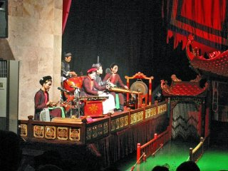 Thang Long Water Puppet Theater © Thomas Schoch