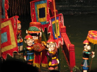 Thang Long Water Puppet Theater © http://www.flickr.com/photos/mckaysavage/