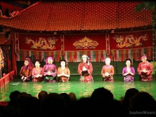 Thang Long Water Puppet Theater © Ian Sewell