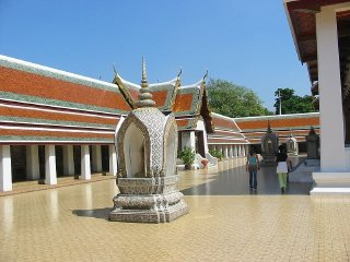 The Golden Mount (Wat Saket) © Gerold Kogler