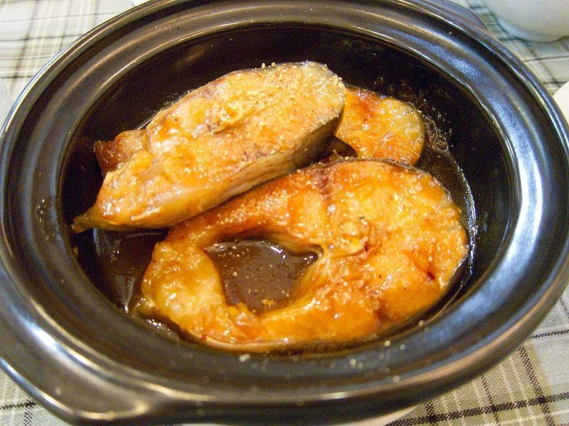 Caramelized Fish in Claypot