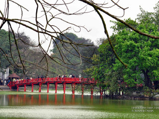 Hoan Kiem Lake (Lake of the Restored Sword)