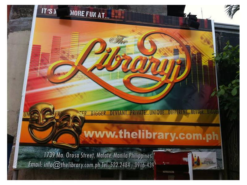 The Library Comedy Bar & Restaurant