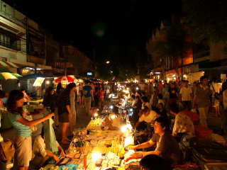 Wualai Walking Street (Saturday night market) © wasilablog