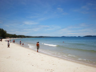 One day with kids in Sihanoukville