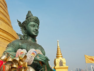 The Golden Mount (Wat Saket) © Andrea Schaffer