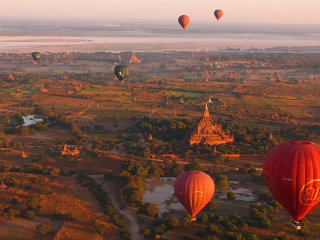 Bagan city center © Paul Arps