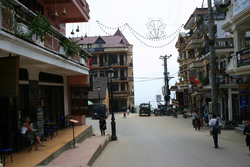 Sapa city center