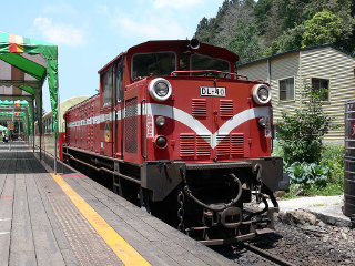 Alishan Forest Railway © WikiLaurent
