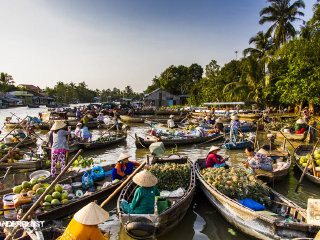 Mekong Delta Tour- Exit to Cambodia by boat 3 Days Tour