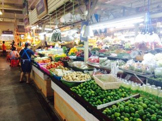 Phuket Town Central Market on Ranong Road