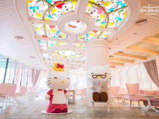 Hello Kitty House © Sanrio Hello Kitty House Bangkok