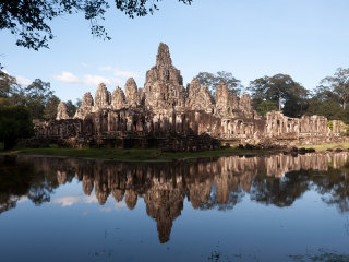 Siem Reap: Angkor Small Circuit + Banteay Srei Temples Day Tour