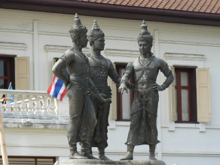Three King's Monument