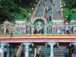 City and Batu Caves Tour (Half Day)