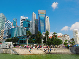 Half-Day Singapore City Tour © Lily