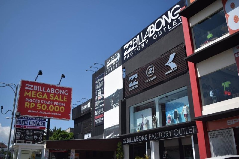 Billabong Factory Outlet in Bali - Personal in Bali