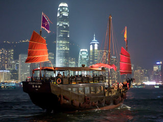 '' A Symphony Of Lights '' Victoria Harbour Dinner Cruise