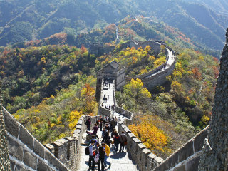 Great Wall At Mutianyu