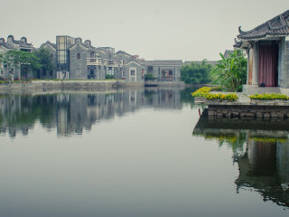 Guangzhou One Day Tour of Lingnan Impression Garden, Lotus Mountain Scenic Region, Yuyinshan Garden